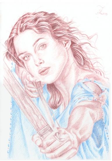 Keira Knightley by Olivier_Lerousseau